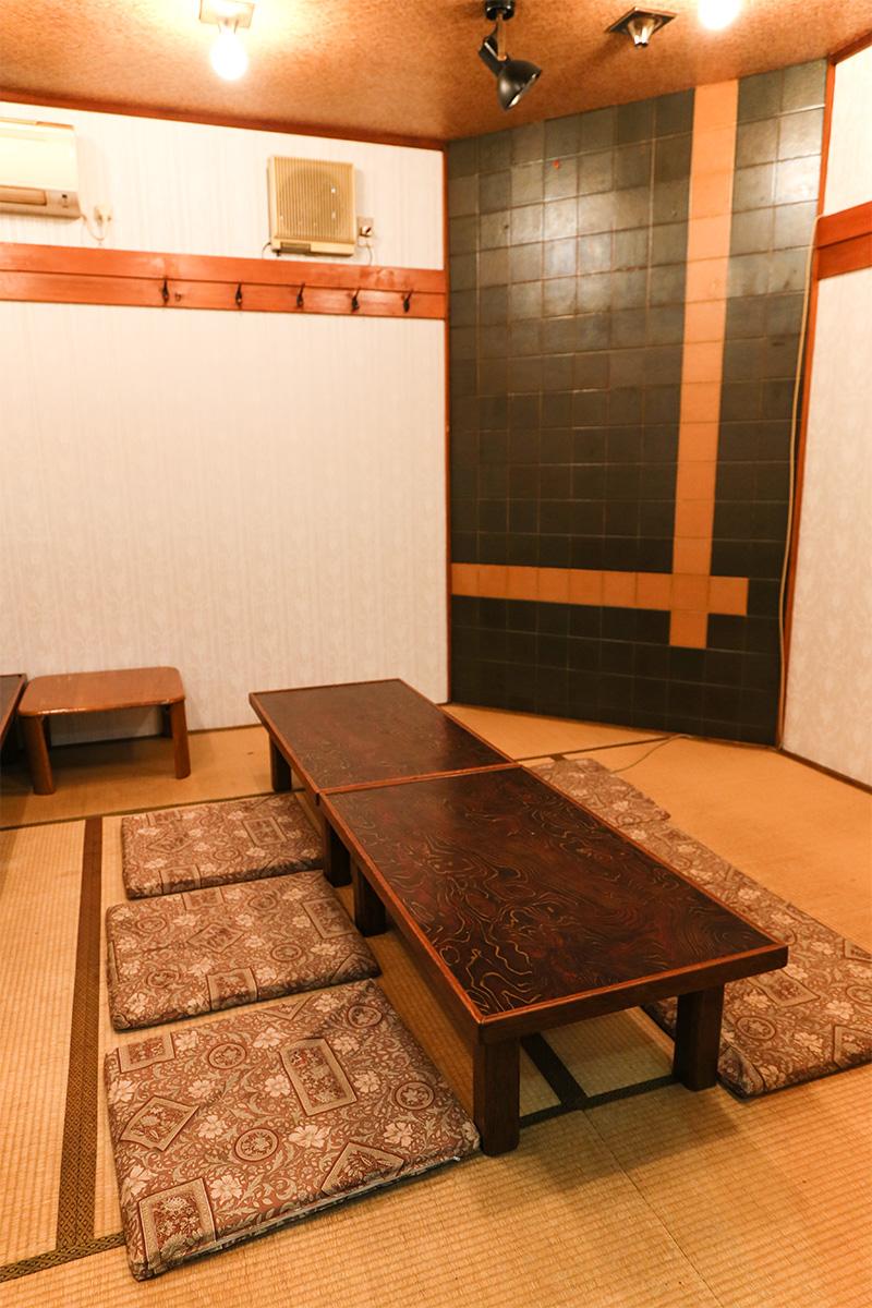 ご宴会に最適な個室のお座敷席もございます